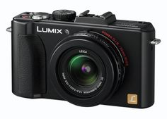 Lumix LX5 compact digital camera that shoots in RAW and in 16:9 aspect ratio