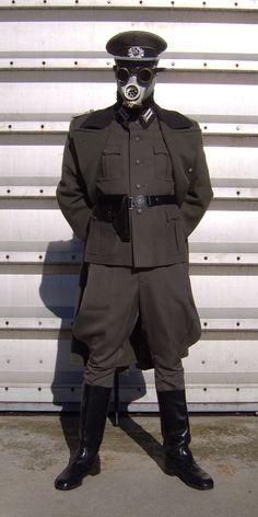 Dieselpunk officer!