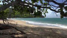 Romantic Piano, Rainbow and Kauai - the Garden Island, Hawaii 4k video,