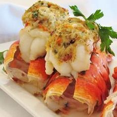 What are you planning for Easter Sunday? Crab-Stuffed Maine Lobster Tails . . . now that's revolutionary :) Crab-Stuffed Lobster Tail Allrecipes.com