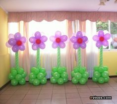Decoración en globos #globoflexia #balloons