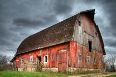 LOVE LOVE love this old barn photograph from @petermilo on #etsy