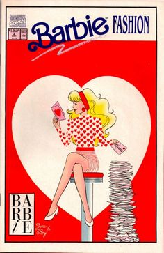 Vintage Barbie FASHION  Comic Book -  No.3/Barbie Heart/ Mint