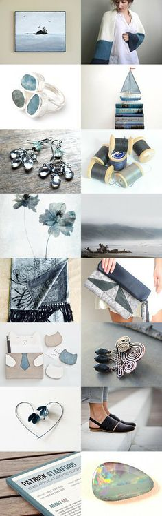 Storm Blue by Kiana and Terri on Etsy ~