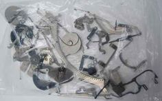 Parts for 1940s Typewriter~art~craft~parts~key~glass~steampunk~gear~metal~lever