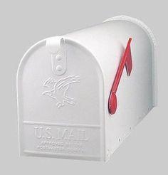 Solar Large Rural Mailbox 1