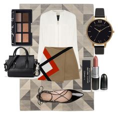 """""""back to school"""" by oliviasyko on Polyvore featuring Derek Lam, Kate Spade, NARS Cosmetics and Olivia Burton"""