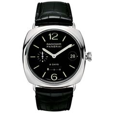 Panerai Radiomir 8 Days 45mm Steel Watch PAM00268
