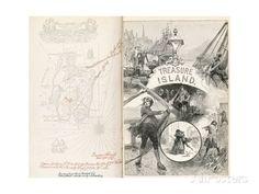Treasure Island, Novel by Robert Louis Balfour Stevenson Giclee Print at AllPosters.com