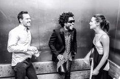 Alicia Vikander, Michael Fassbender and Lenny Kravitz