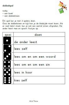 jufthirza.nl Dobbelspel beurt lezen veilig leren lezen kim-versie