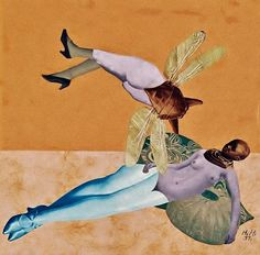 """Hannah Höch artist affiliated with Dada in Berlin. (See the book """"Cut with the Kitchen Knife: The Weimar Photomontages of Hannah Höch"""") Dada Collage, Collage Artists, Surrealist Collage, Photomontage, Hannah Hock, Hannah Hoch Collage, Dada Artists, Dada Movement, Women Artist"""