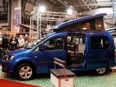 We trekked to the Motorhome and Caravan Show to marvel at pint-sized portable dwellings Caravans, Camper Van, Tents, Motorhome, Vw, Cars, Vehicles, Image, Autos