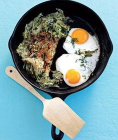 Spring Hash With Eggs Sunny-Side Up | RealSimple.com