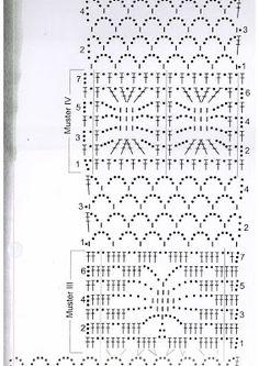 Álbumes web de Picasa Crochet Stitches Chart, Crochet Diagram, Stitch Patterns, Crochet Patterns, Crochet Clothes, Color Mixing, Knit Crochet, Art Pieces, Album