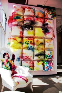 Surface Jalouse - ange de pixels #retail #merchandising #store #display Retail merchandising