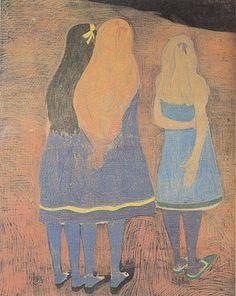 Leon Spilliaert - Girls Seen From the Back 1912