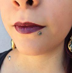 Lip Piercing, Body Jewelry, Lips, Fashion, Moda, Fashion Styles, Body Jewellery, Lip Piercings, Body Mods