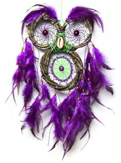dreamcatcher   filtro dos sonhos - coruja cipó natural
