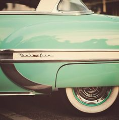 Luxury & sports cars to debut at Shanghai Spring Mint Green - Bel Air - Vintage Car Photograph, Mid Century Modern, Mad Men, Father's Day, C. Chevrolet Bel Air, 1954 Chevy Bel Air, Luxury Sports Cars, Sport Cars, Vintage Cars, Antique Cars, Retro Vintage, Retro Cars, Vintage Green