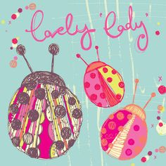 Lovely Lady Bugs Canvas Art