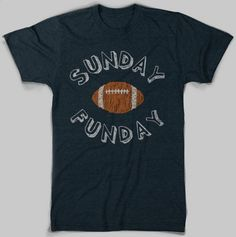 Fantastic Chicago Sports T-Shirts: The Sunday Funday Tee ($20)