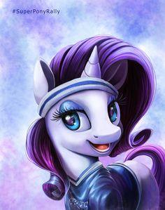 Super Bowl Ponies _ Rarity by Tsitra360 on DeviantArt
