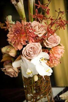Flowers & Decor, pink, Ceremony Flowers, Aisle Decor, Rustic Wedding Flowers & Decor, Vintage Wedding Flowers & Decor