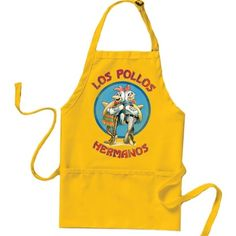 Breaking Bad Los Pollos Hermanos Apron Never used Breaking bad merch, I got it in my loot crate and I'm not a fan of the show! Loot crate Other