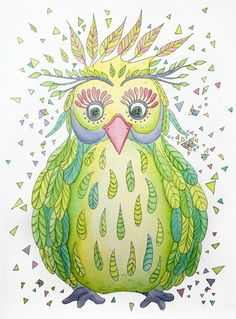 'Forest's Owl' by Sophie Gerl