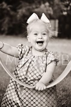 My Shtub: Top 5 Reasons why Down syndrome Rocks! This little girl is too stinking cute!!