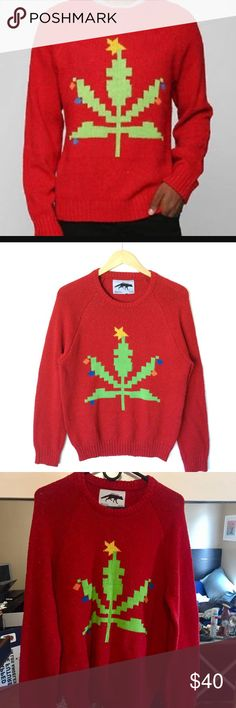 Christmas Sweater , Ugly Sweater Party This sweater is hilarious, not tipsy elves but tagged for obvious reasons since this sweater is hilarious , only worn once to an ugly sweater holiday party Tipsy Elves Sweaters Crewneck
