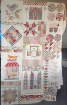 Shabby Quilt: Foxley