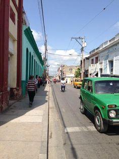Holguin Cuba, this Is an average road there