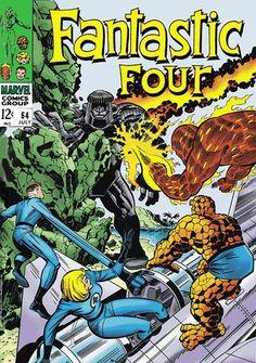 Fantastic Four #64 alternate cover