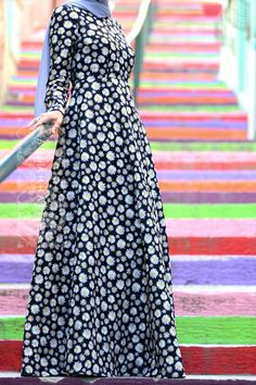 Annah Hariri, Online, Modest clothing atelier of high end quality Dresses Kids Girl, Dresses For Teens, Modest Dresses, Modest Outfits, Nice Dresses, African Fashion Dresses, Hijab Fashion, Fashion Outfits, Hijab Style Dress