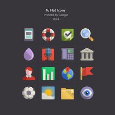Flat-Icons-Inspired-by-Google-vol4