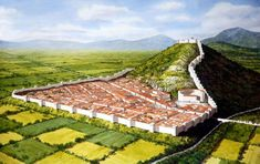 The ancient Macedonian city of Philippi, Greece : CharacterDevelopment