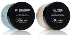 Baxter of California - Soft Water Pomade & Clay Pomade
