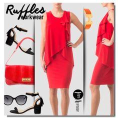 Work Wear - Red Dress