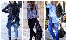 Dicas de como usar jaqueta de couro com calça!
