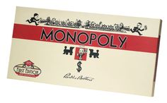 1935 Replica Monopoly Illustrated just like the very 1st Monopoly Edition in 1935 design
