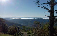 View from Pisgah Inn in the Blue Ridge Mtns. near Asheville, NC