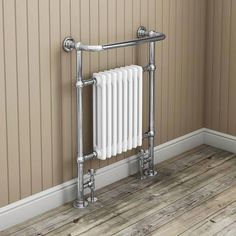 Savoy Traditional Radiator with Crosshead Valves Feature Image