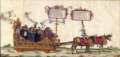 Albrecht Altdorfer (c. 1480 -1538), Hans Burgkmair (1473-1531), Albrecht Dürer (1471-1528) & others — Triumphal Procession, 1517 (2500x1201)