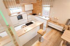 Classic 157 S Salzburg/Eugendorf Küchen Design, Interior Design Kitchen, Interior Design Inspiration, Woodworking Shop, Future House, Bungalow, Salzburg, Kitchen Dining, Sweet Home