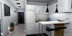 Aneks kuchenny w salonie - zdjęcie od Pracownia Kardamon - Kuchnia - Styl Minimalistyczny - Pracownia Kardamon