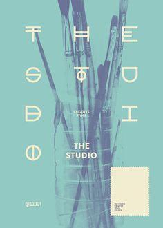 The Studio #art #design #typography