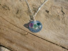 Family Initial Charm Necklace