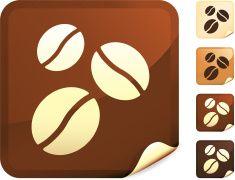coffee beans internet royalty free vector art vector art illustration
